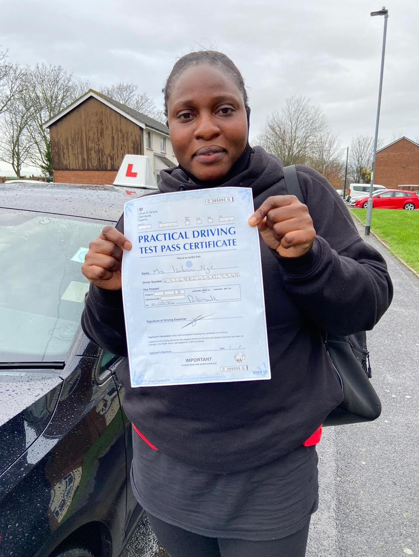 Driving School Portsmouth Testimonials